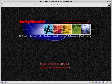 JackyMaeder - Website